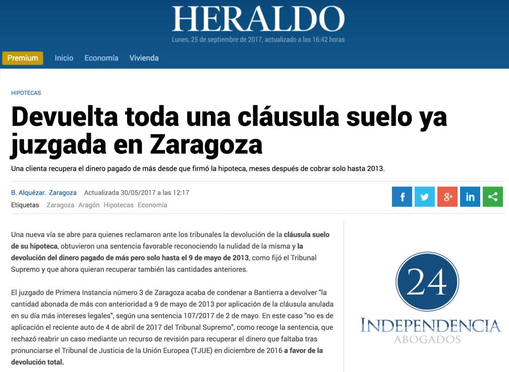 noticias independencia 24 abogados en zaragoza